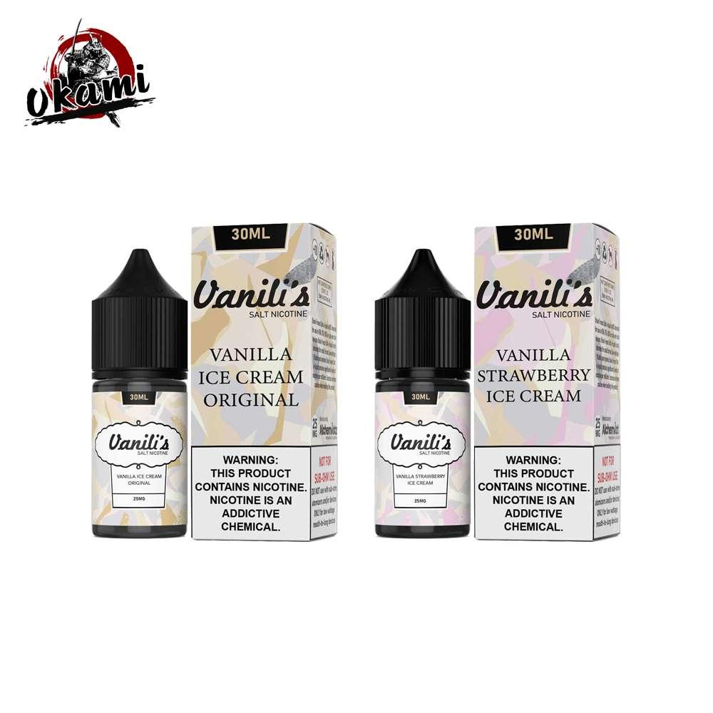 Vanili's Vanilla Ice Cream Salt Nic